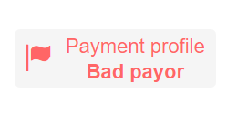 Seen on the web ... How to differentiate the payment behavior of your customers?