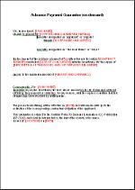 Advance Payment Letter Format To Client. Advance payment bank guarantee EN